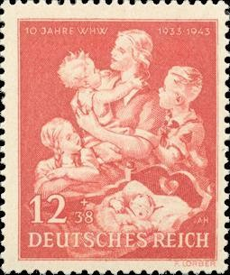 Colnect-418-332-Mother-with-children.jpg