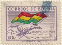 Colnect-850-181-Condor-and-flag-of-Bollivia.jpg