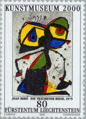 Colnect-133-150-The-dreaming-Bee-by-Joan-Miro.jpg