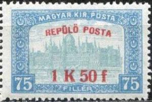 Colnect-677-875-Parliament-building-with--Air-post--overprint.jpg