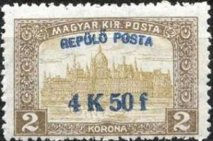 Colnect-677-876-Parliament-building-with--Air-post--overprint.jpg