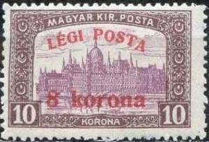Colnect-677-901-Parliament-building-with--Air-post--overprint.jpg