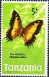 Colnect-1070-019-Black-bordered-Charaxes-Charaxes-pollux.jpg