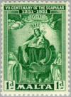 Colnect-130-243-Seventh-Centenary-of-the-Scapular.jpg