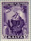 Colnect-130-244-Seventh-Centenary-of-the-Scapular.jpg