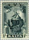 Colnect-130-245-Seventh-Centenary-of-the-Scapular.jpg
