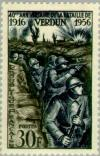 Colnect-143-965-Verdun-Foot-soldiers-in-the-trench.jpg
