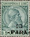 Colnect-3907-385-Skanderbeg-issue-overprinted-with-Turkish-Value.jpg