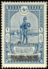 Colnect-417-636-Overprint-on-Sentry-at-Beersheba.jpg