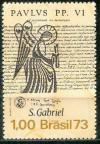 Colnect-966-322-St-Gabriel-and-Proclamation-of-Pope-Paul-VI.jpg